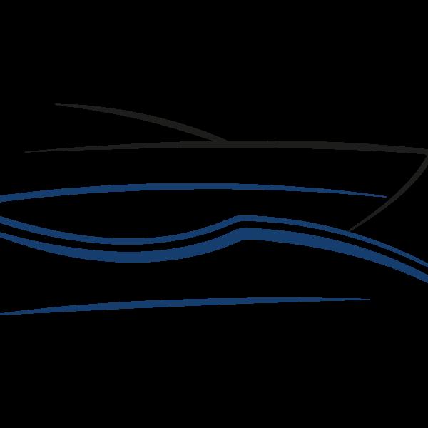 logo yacht sur l'eau